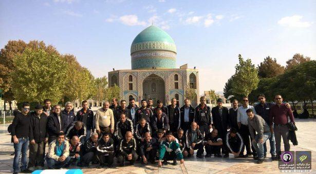 اردو زیارتی مشهد مقدس